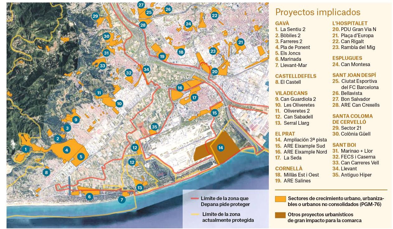 "Mapa publicat pel diari ""Público""."